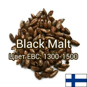 Солод Black Malt (жженый), Viking Malt 0,5кг